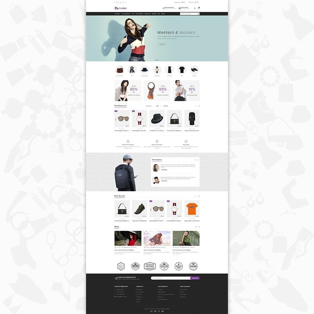 theme - Мода и обувь - MyShopKart - The Shopping Mall - 2