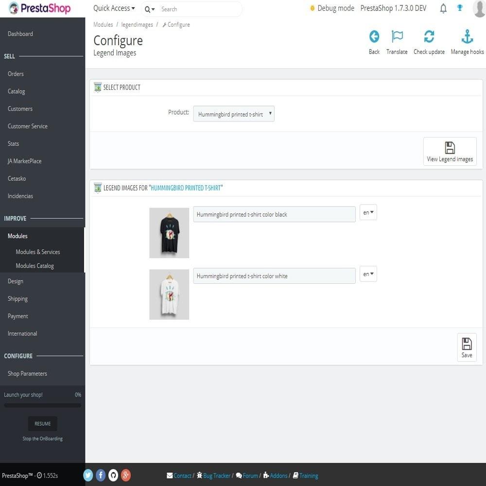 module - SEO (Posicionamiento en buscadores) - Leyenda o subtítilo para las imágenes del producto - 2