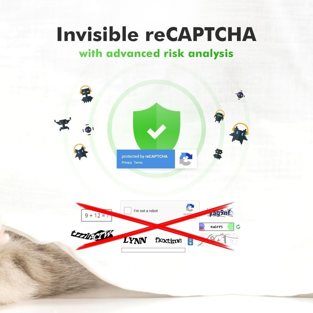 module - Seguridad y Accesos - Spam Protection - Invisible reCaptcha - 2