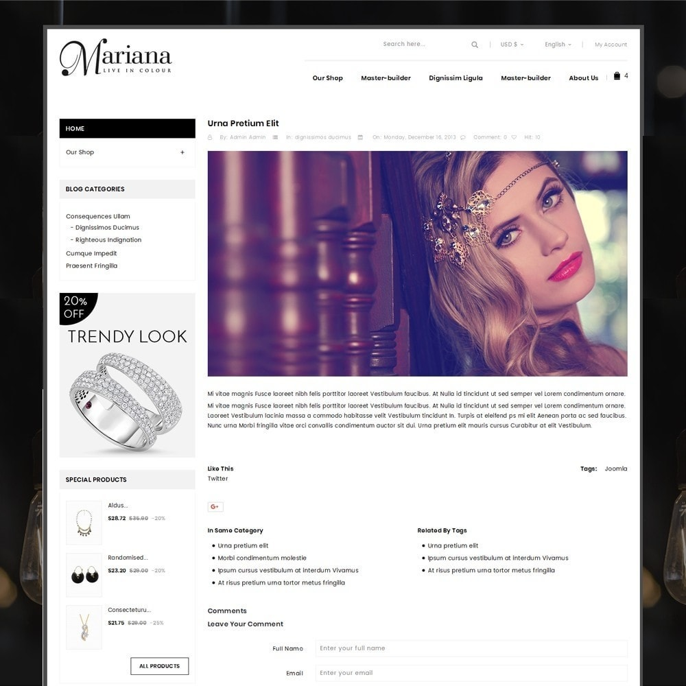 theme - Jewelry & Accessories - Mariana - The Jewelry Store - 7
