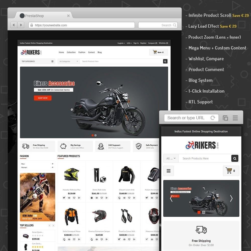 theme - Авто и Мото - Bikers Accessories Store - 1