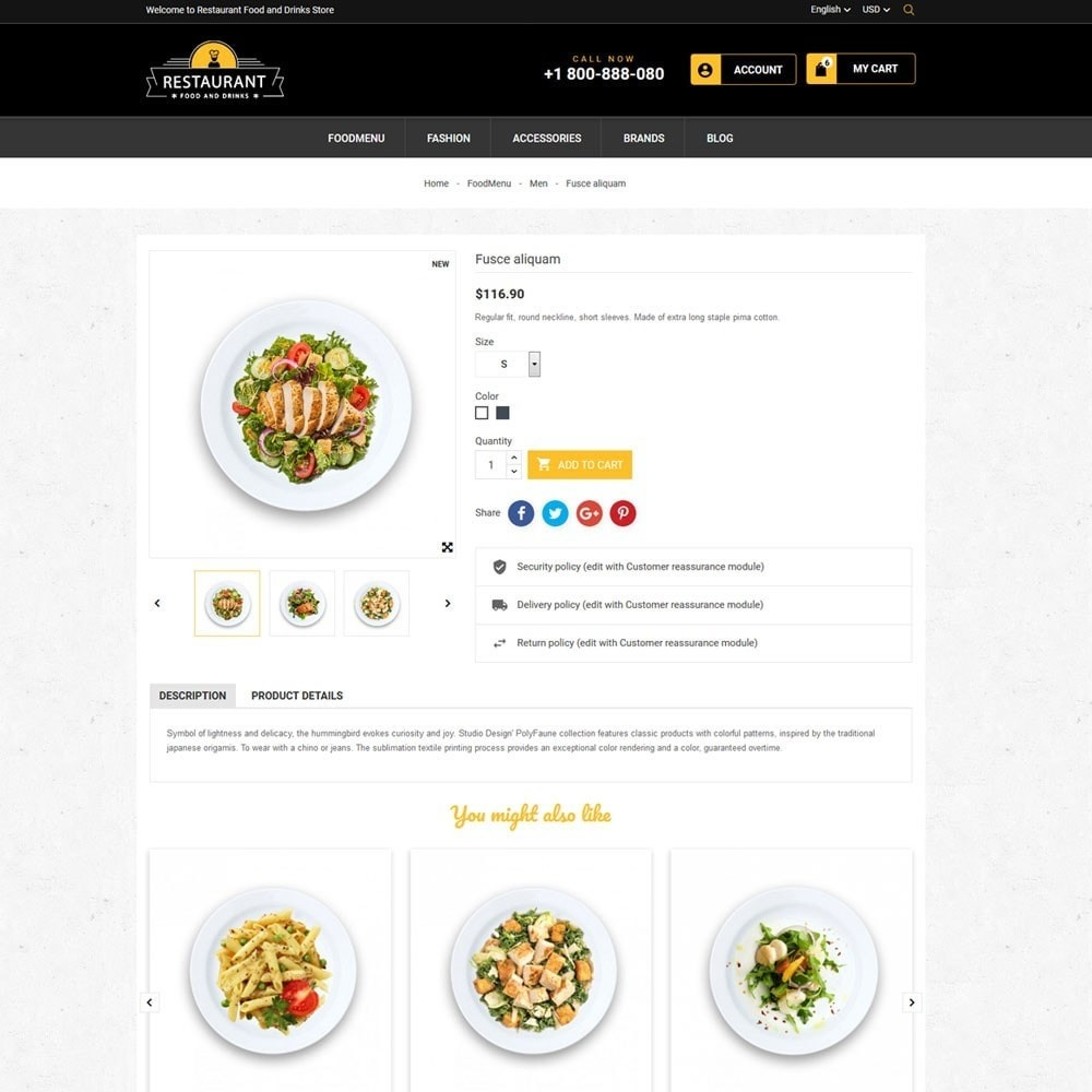 theme - Cibo & Ristorazione - Restaurant Food And Drinks Store - 7