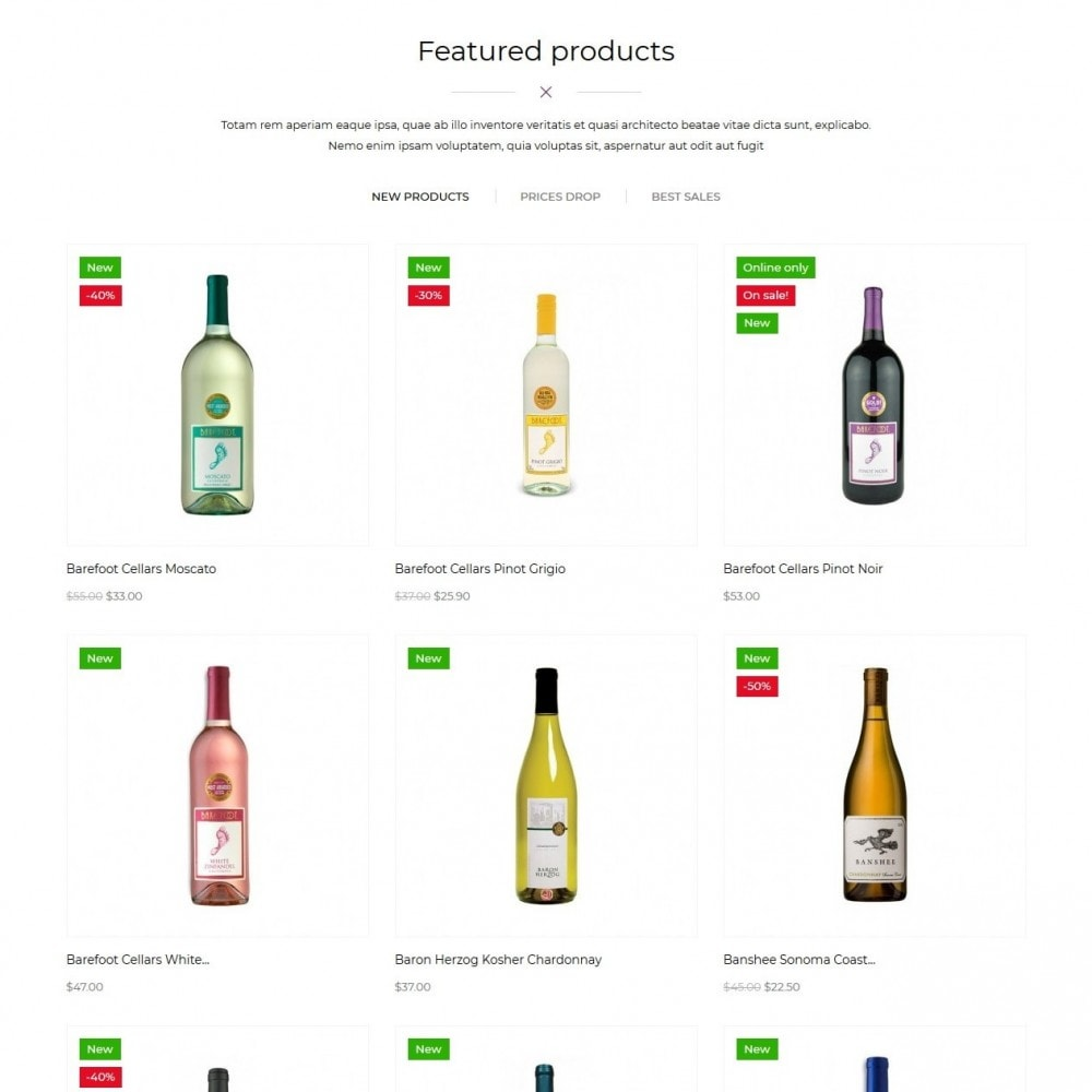 theme - Bebidas & Tabaco - WineList Shop - 3