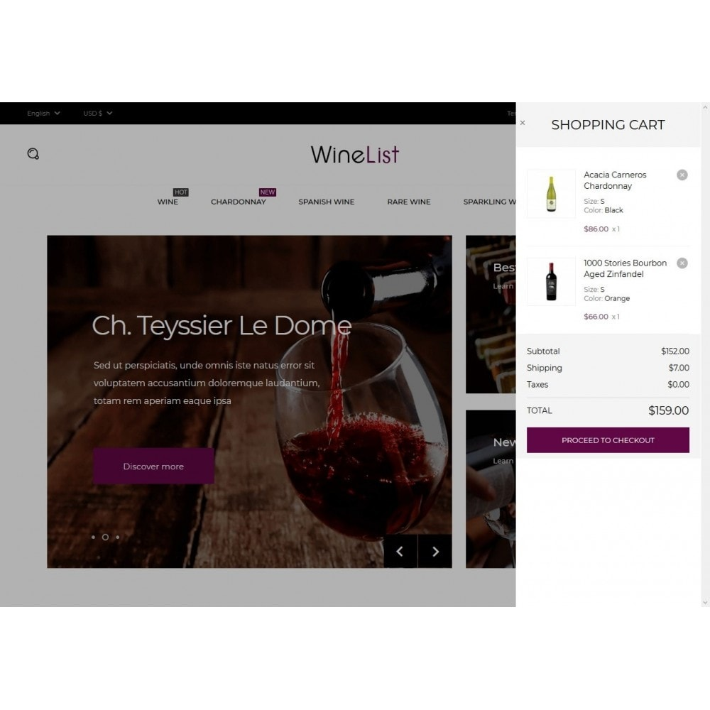 theme - Drink & Tobacco - WineList Shop - 7