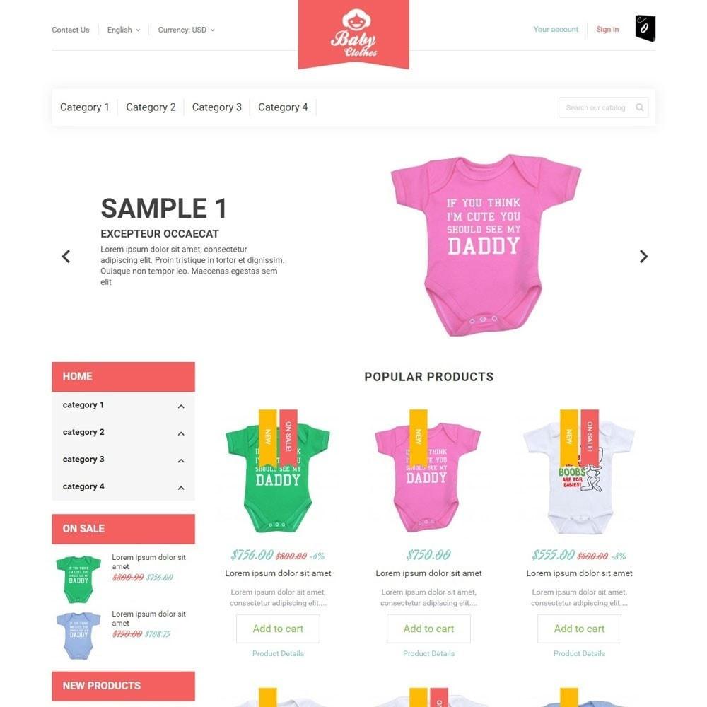 theme - Дети и Игрушки - BabyClothes - 1