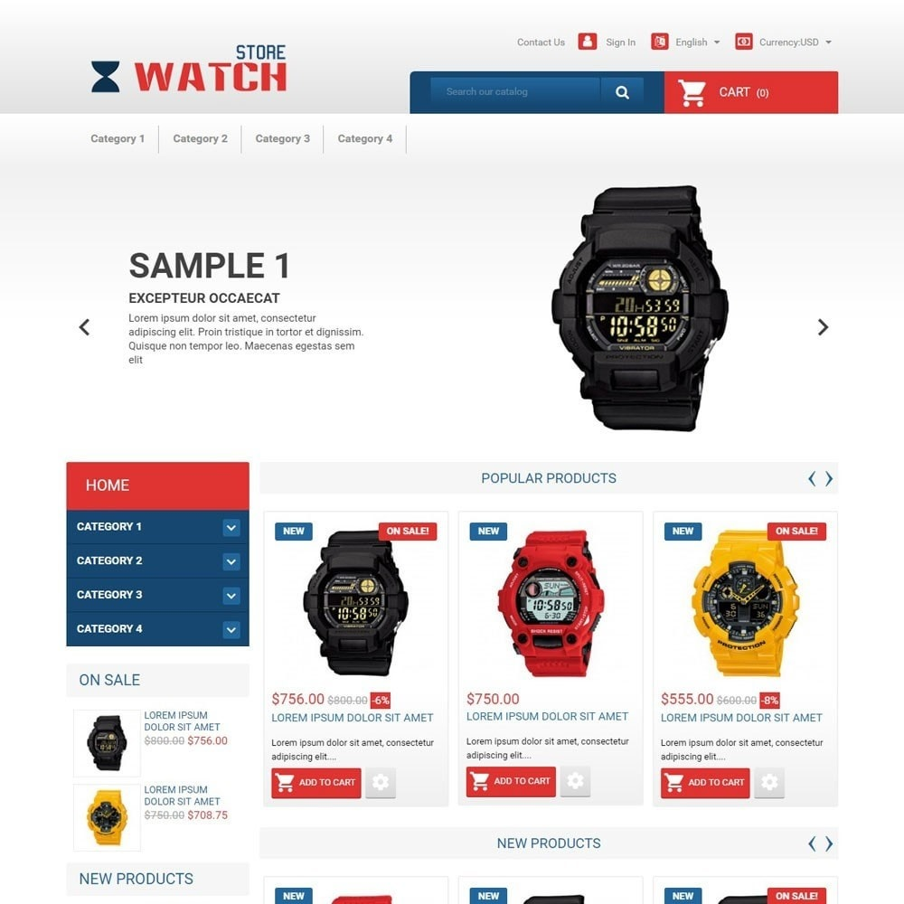 theme - Elektronika & High Tech - WatchStore - 1