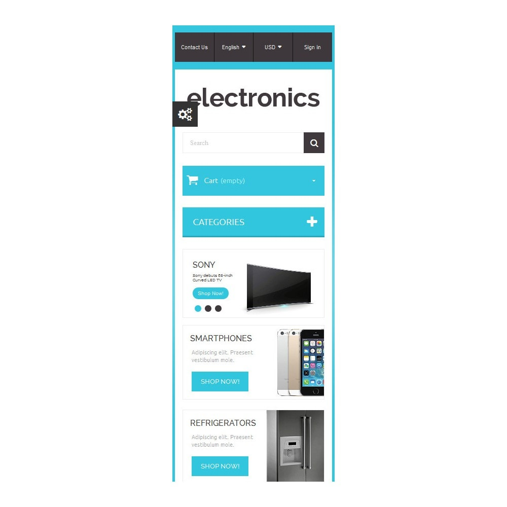 theme - Electrónica e High Tech - Home Electronics - 9