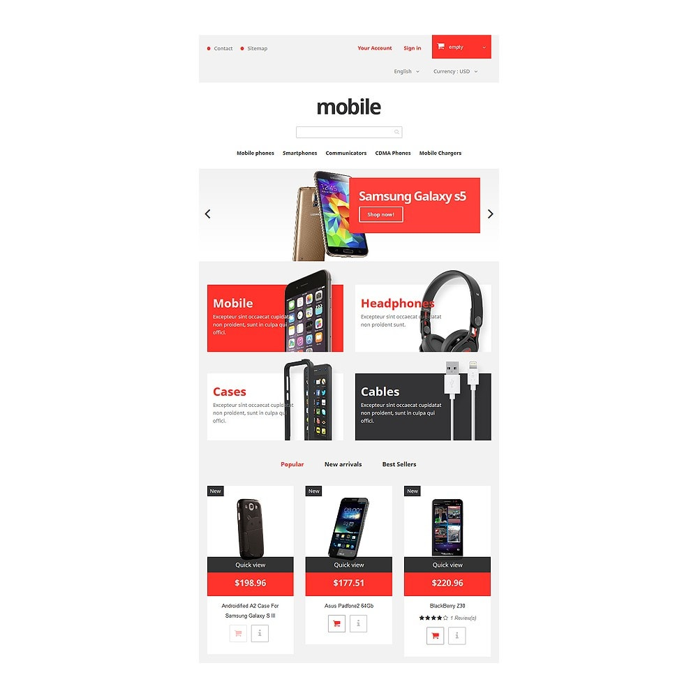 theme - Elettronica & High Tech - Mobile Phones Store - 7