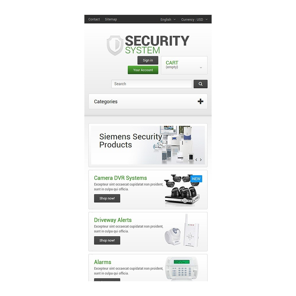 theme - Casa & Jardins - Security System - 8