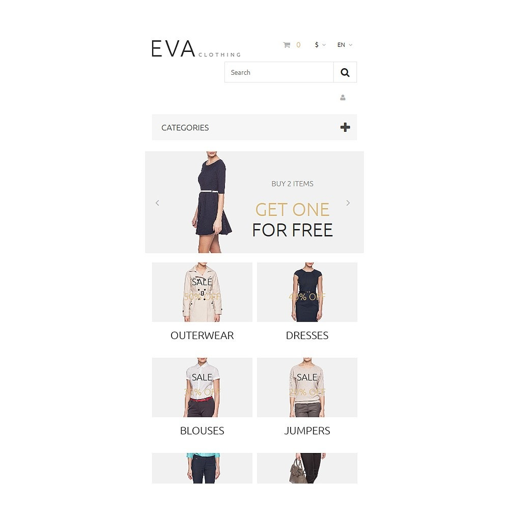 theme - Mode & Chaussures - EVA Clothing - 8