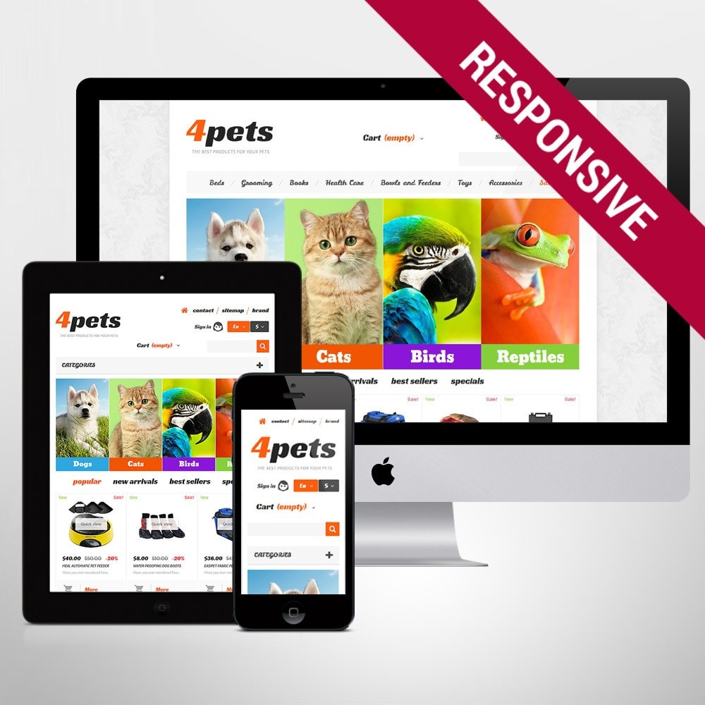 theme - Animals & Pets - 4Pets - 1