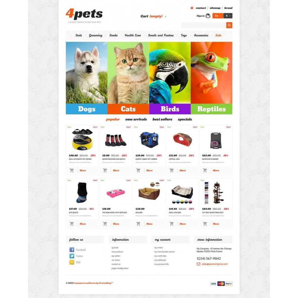 theme - Animals & Pets - 4Pets - 2