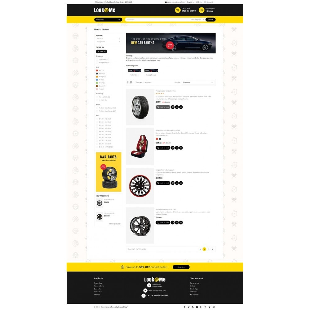 theme - Auto's & Motoren - Look me Auto Parts - 4