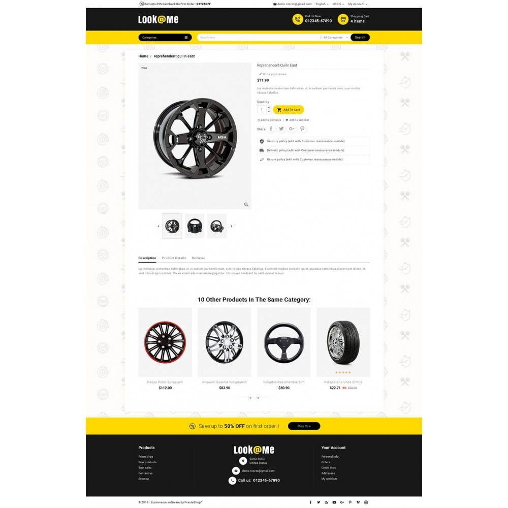 theme - Auto's & Motoren - Look me Auto Parts - 5