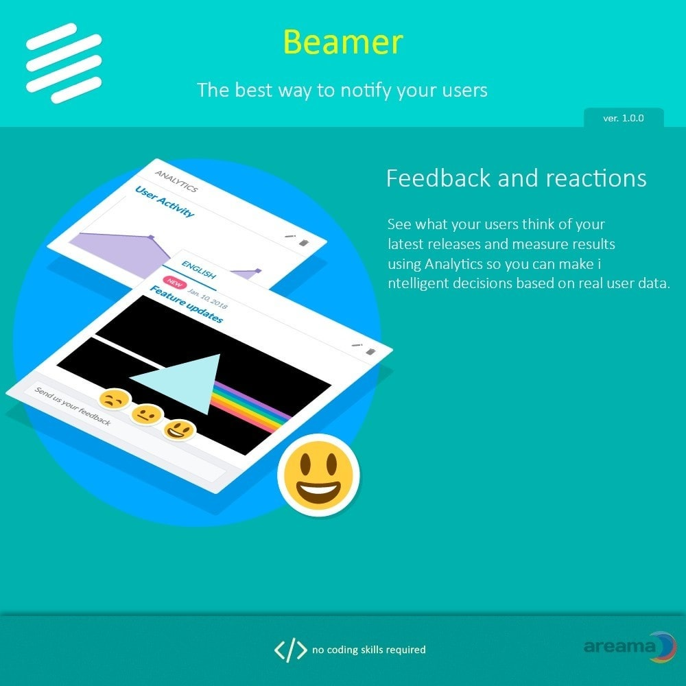 module - Блог, форумов и новостей - Beamer – The best way to notify your users - 4