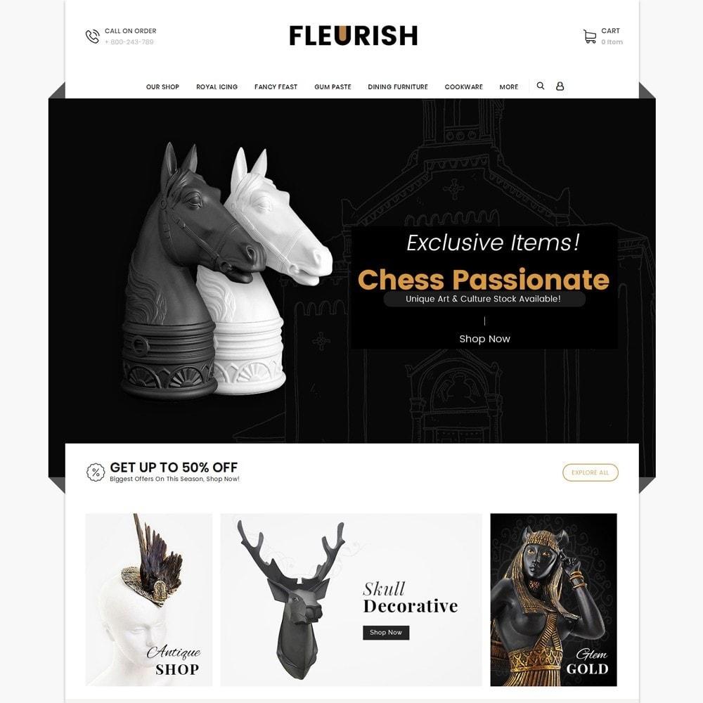 theme - Искусство и Культура - Fleurish - Art Shop - 3