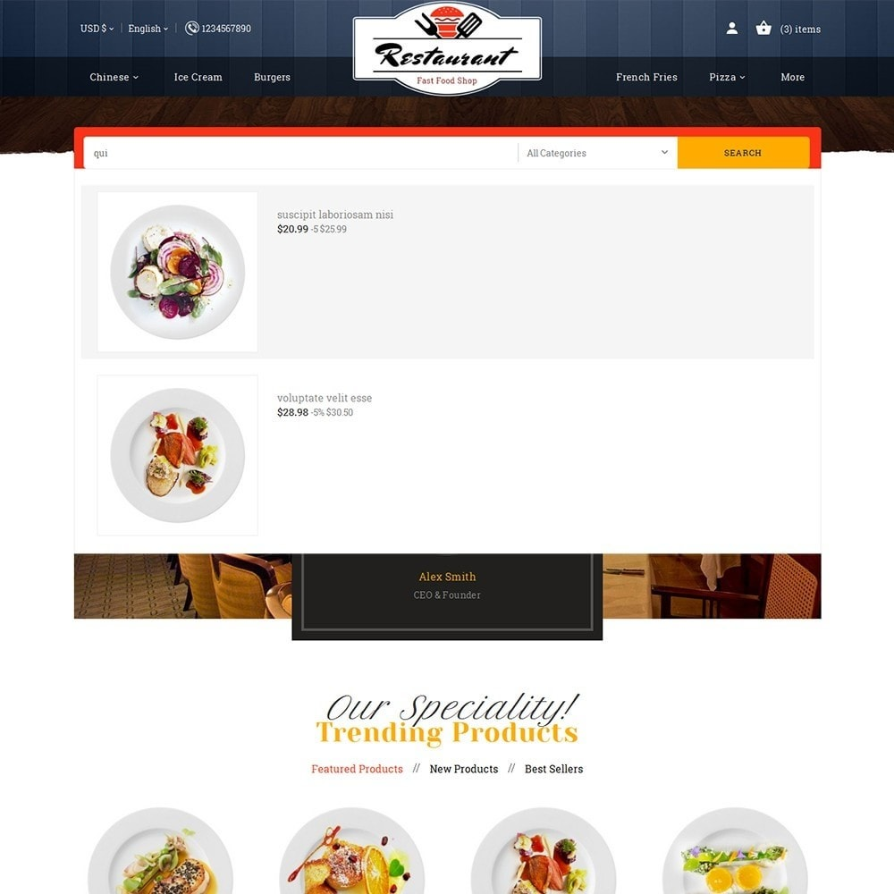 theme - Food & Restaurant - Restaurant Food - 10