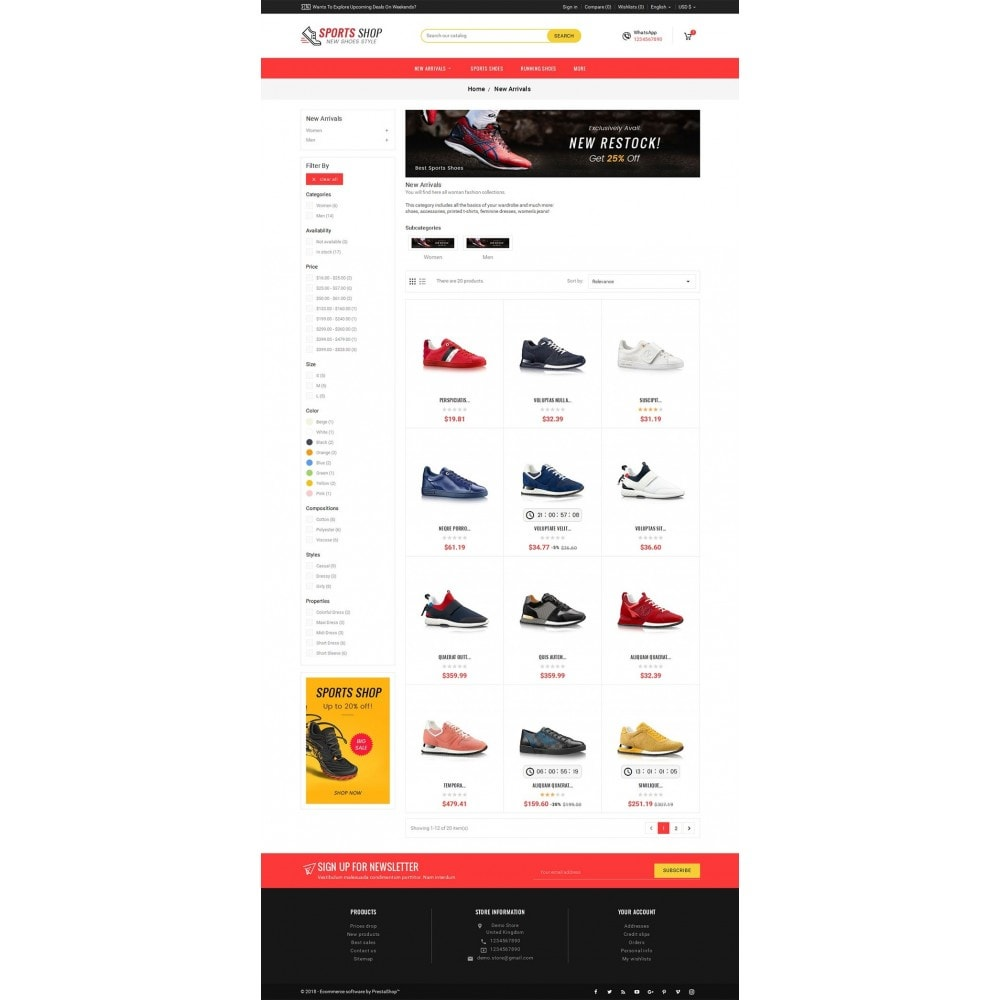 theme - Sport, Loisirs & Voyage - Sport Shoes & Footwear - 4