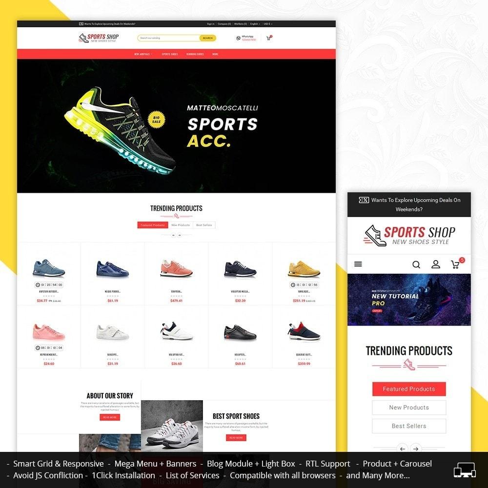 theme - Deportes, Actividades y Viajes - Sport Shoes & Footwear - 2