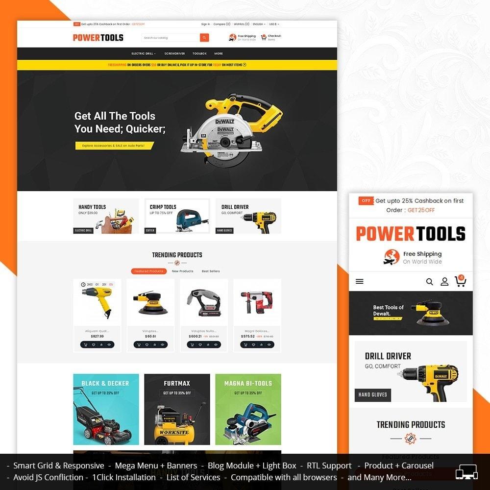theme - Heim & Garten - Power Tools Store - 2