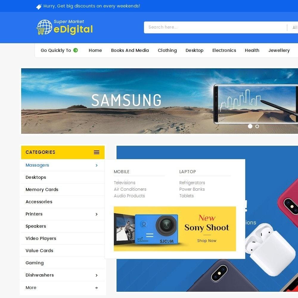 theme - Electronique & High Tech - eDigital Mega Shop Electronics - 10