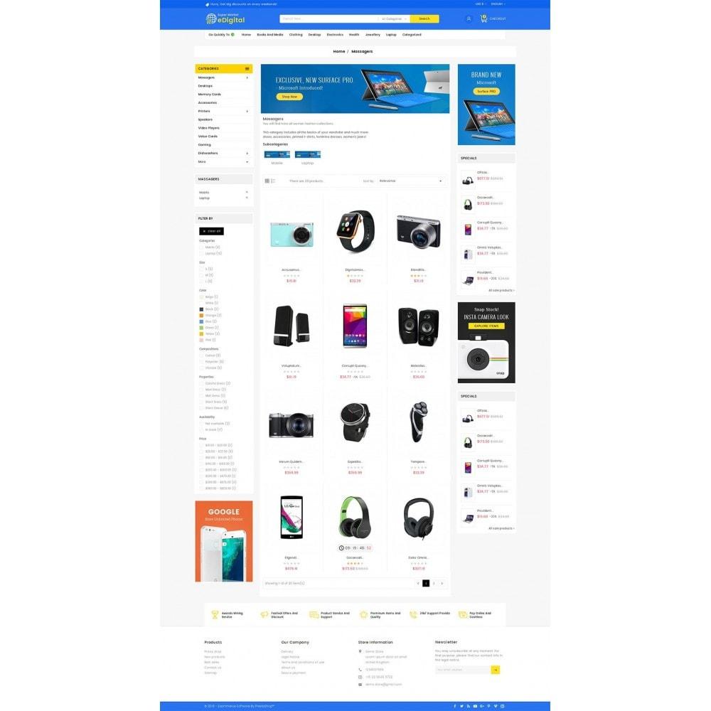 theme - Elektronik & High Tech - eDigital Mega Shop Electronics - 4