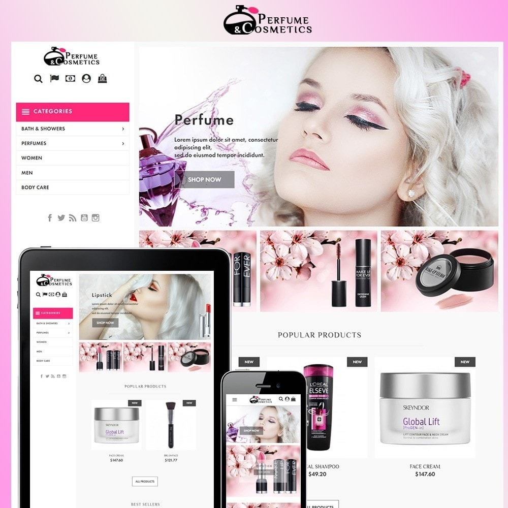 theme - Salute & Bellezza - Perfume and Cosmetics - 1