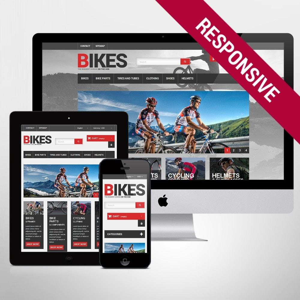 theme - Sports, Activities & Travel - Bikes Store - 1