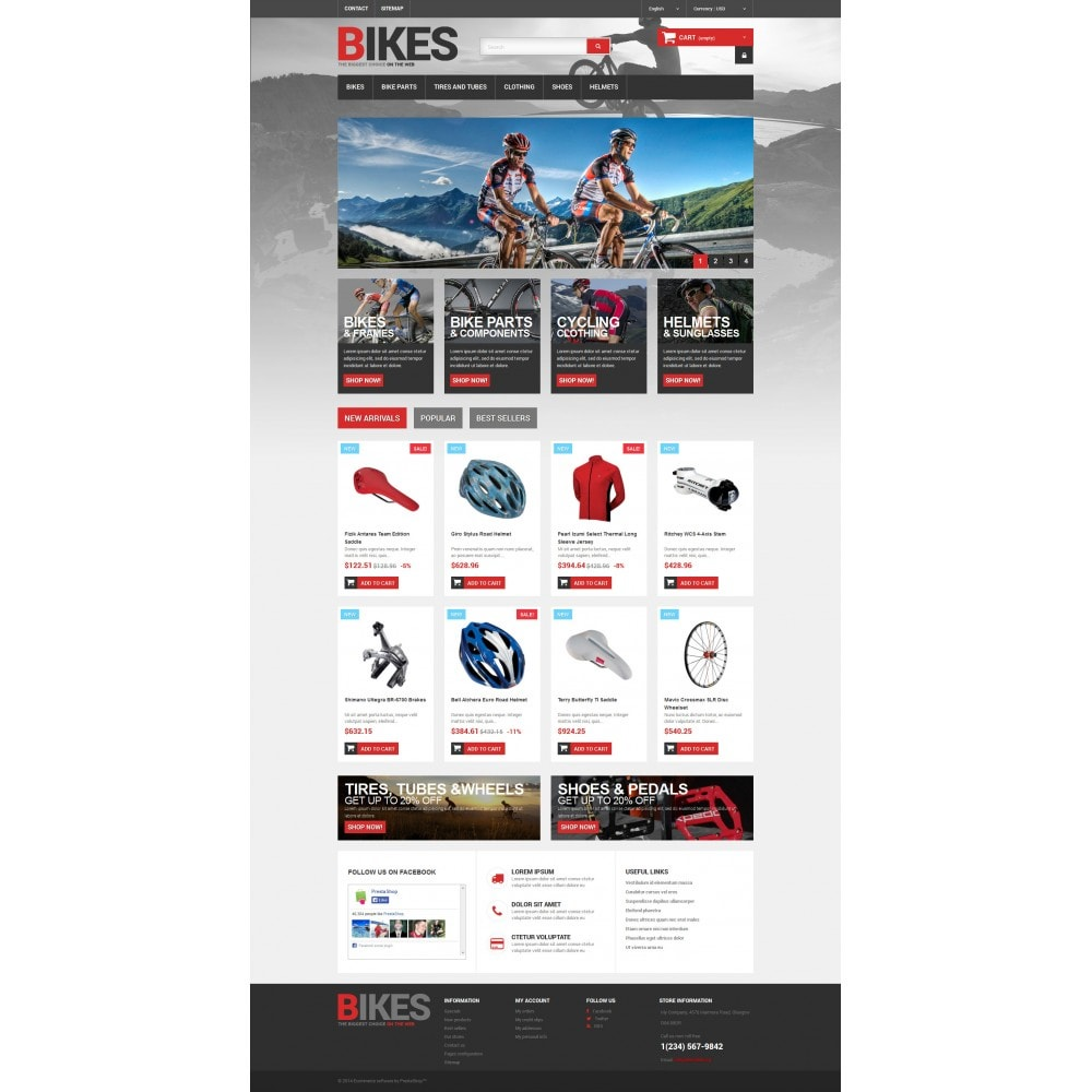 theme - Sports, Activities & Travel - Bikes Store - 4