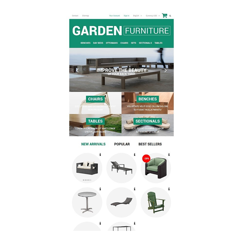 theme - Art & Culture - Garden Furniture and Sheds - 7