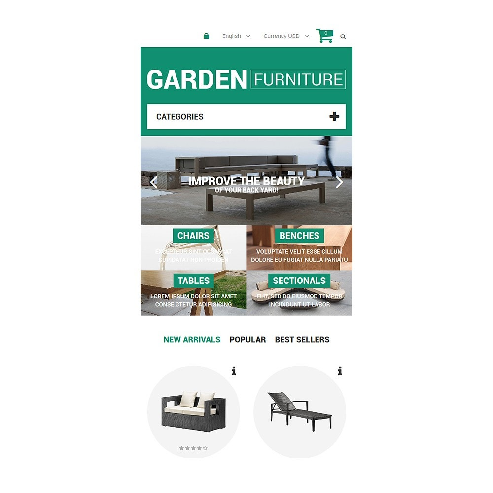 theme - Kultura & Sztuka - Garden Furniture and Sheds - 8