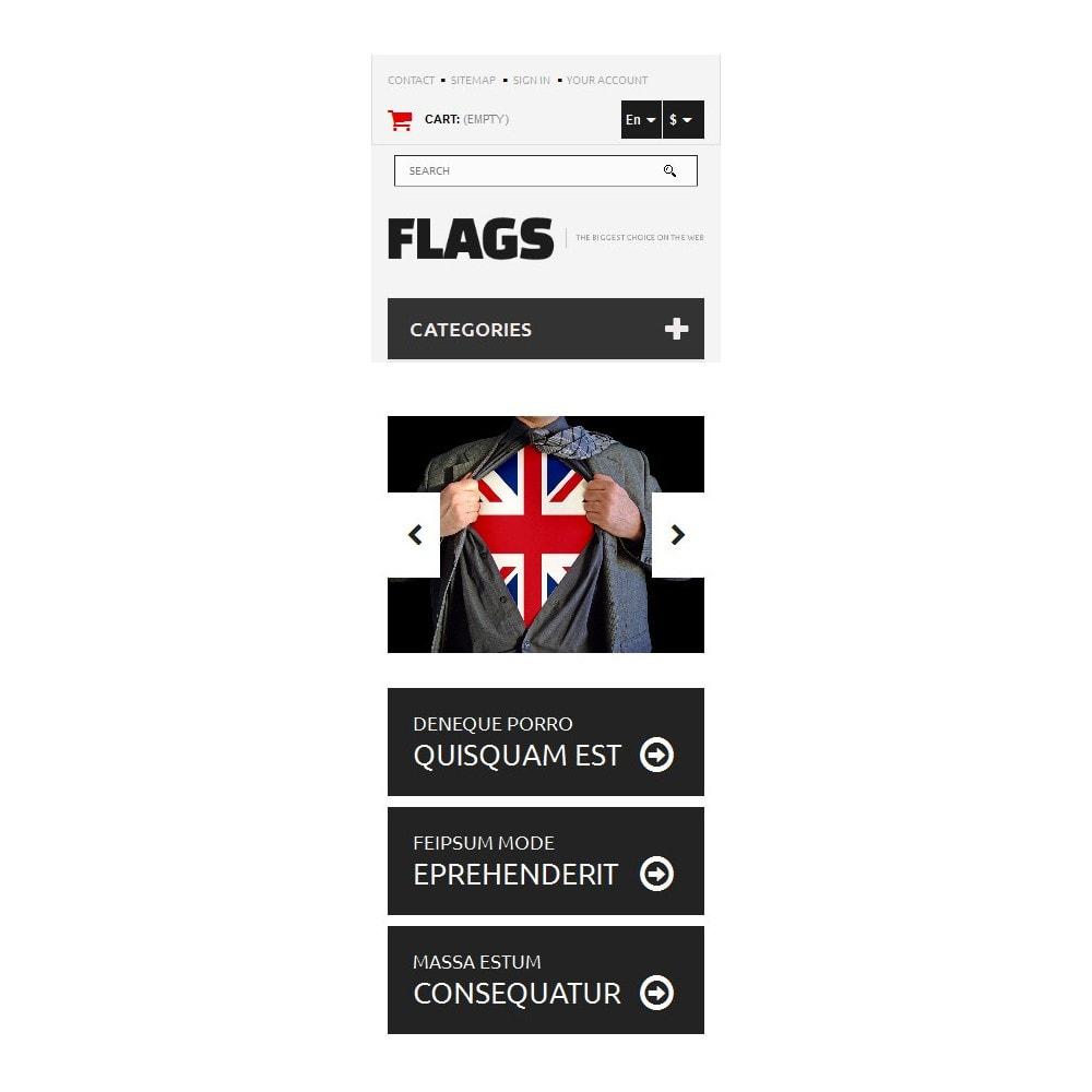 theme - PrestaShop thema's - Flag Shop - 9