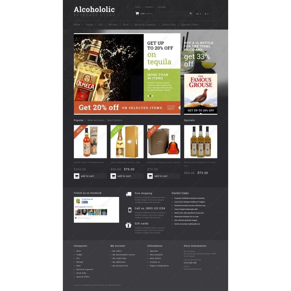 theme - Продовольствие и рестораны - Alcoholic Beverage Store - 5