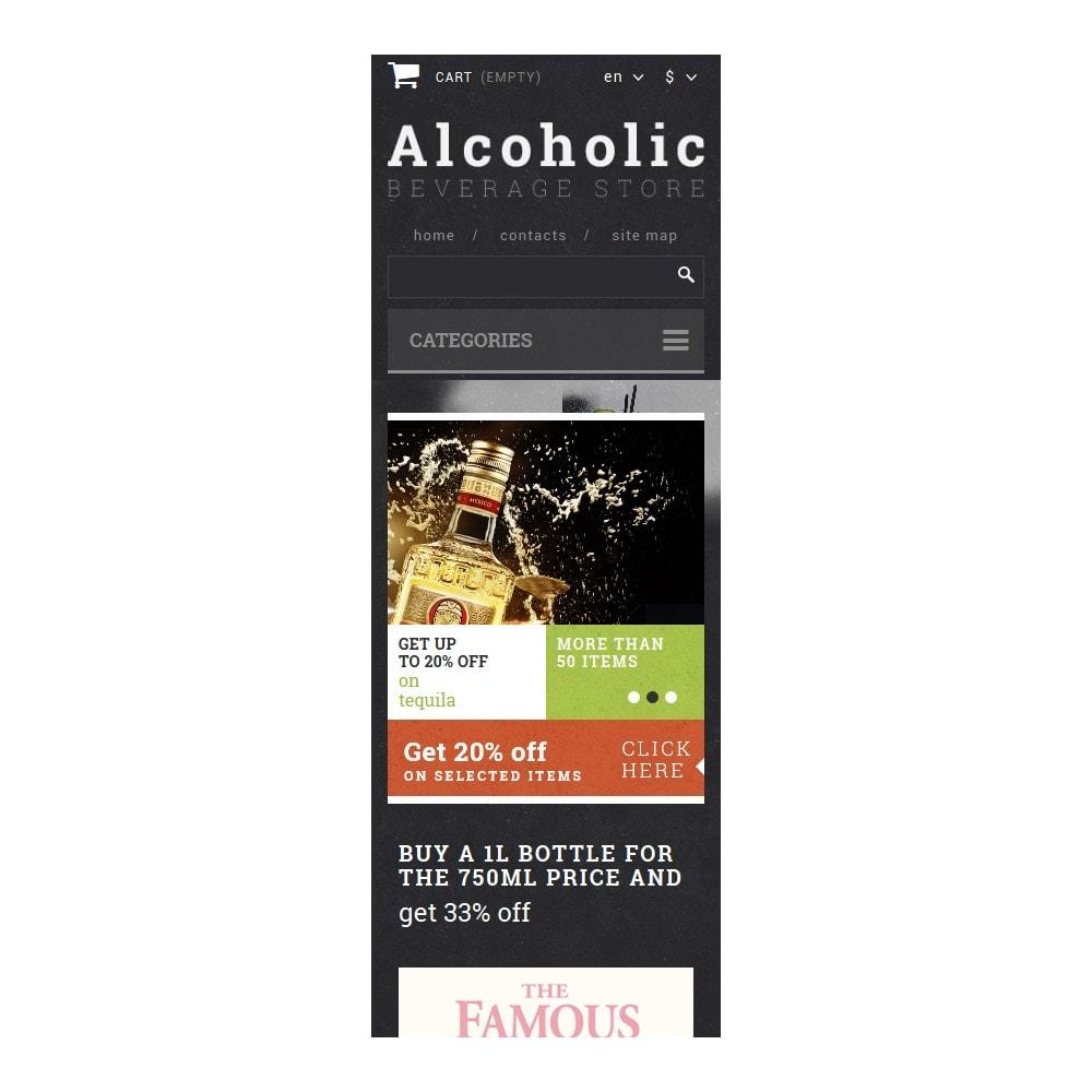 theme - Продовольствие и рестораны - Alcoholic Beverage Store - 9