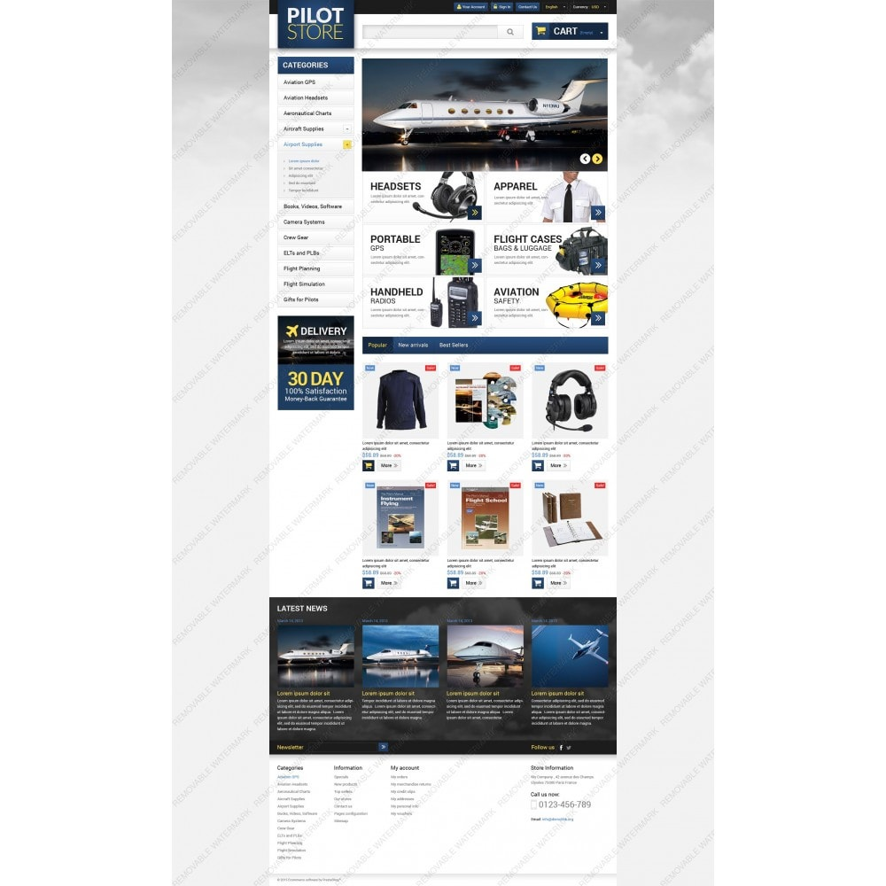 theme - Casa & Giardino - Aviation Equipment - 5