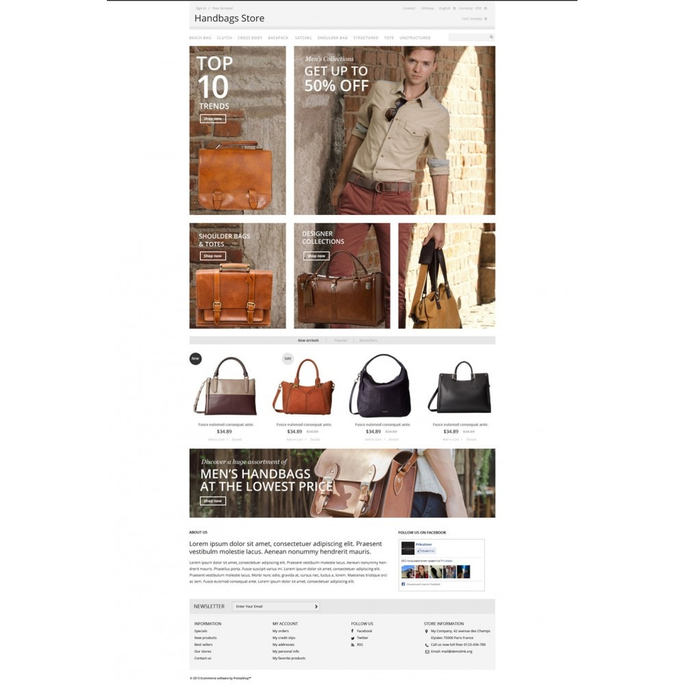 theme - Moda & Calzature - Handbags Store - 2