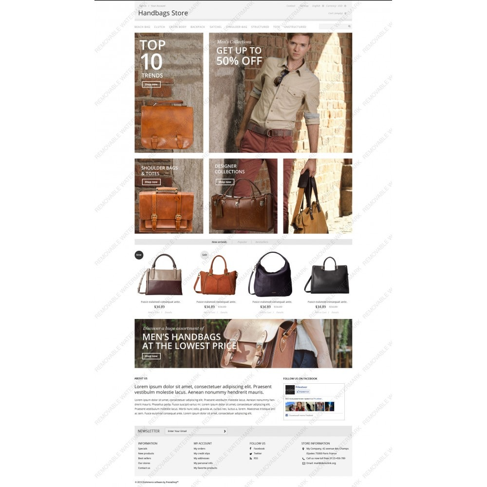 theme - Moda & Calzature - Handbags Store - 3