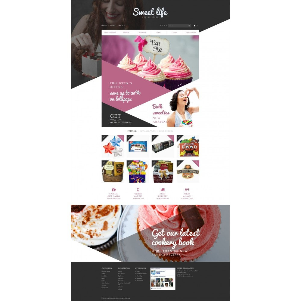 theme - Lebensmittel & Restaurants - Sweets Shop - 4
