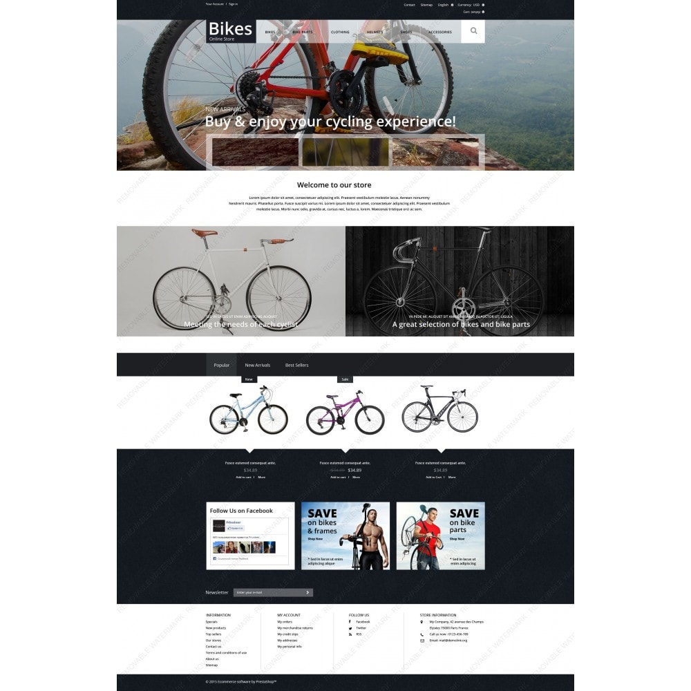 theme - Sport, Aktivitäten & Reise - Bike Store - 3