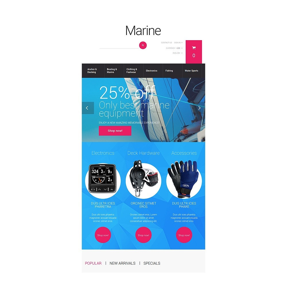 theme - Спорт и Путешествия - Marine Adventure - 7