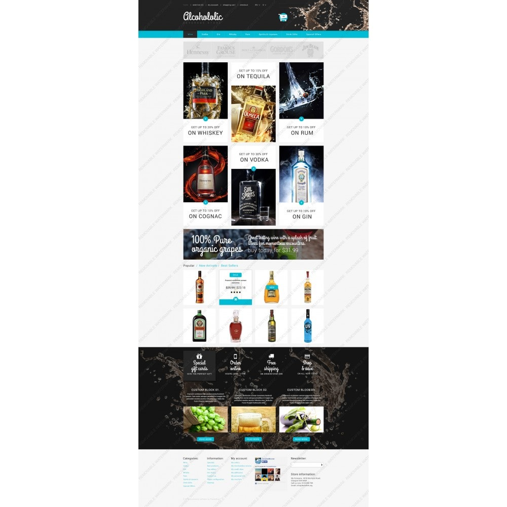 theme - Lebensmittel & Restaurants - Alkoholika-Onlineshop - 5