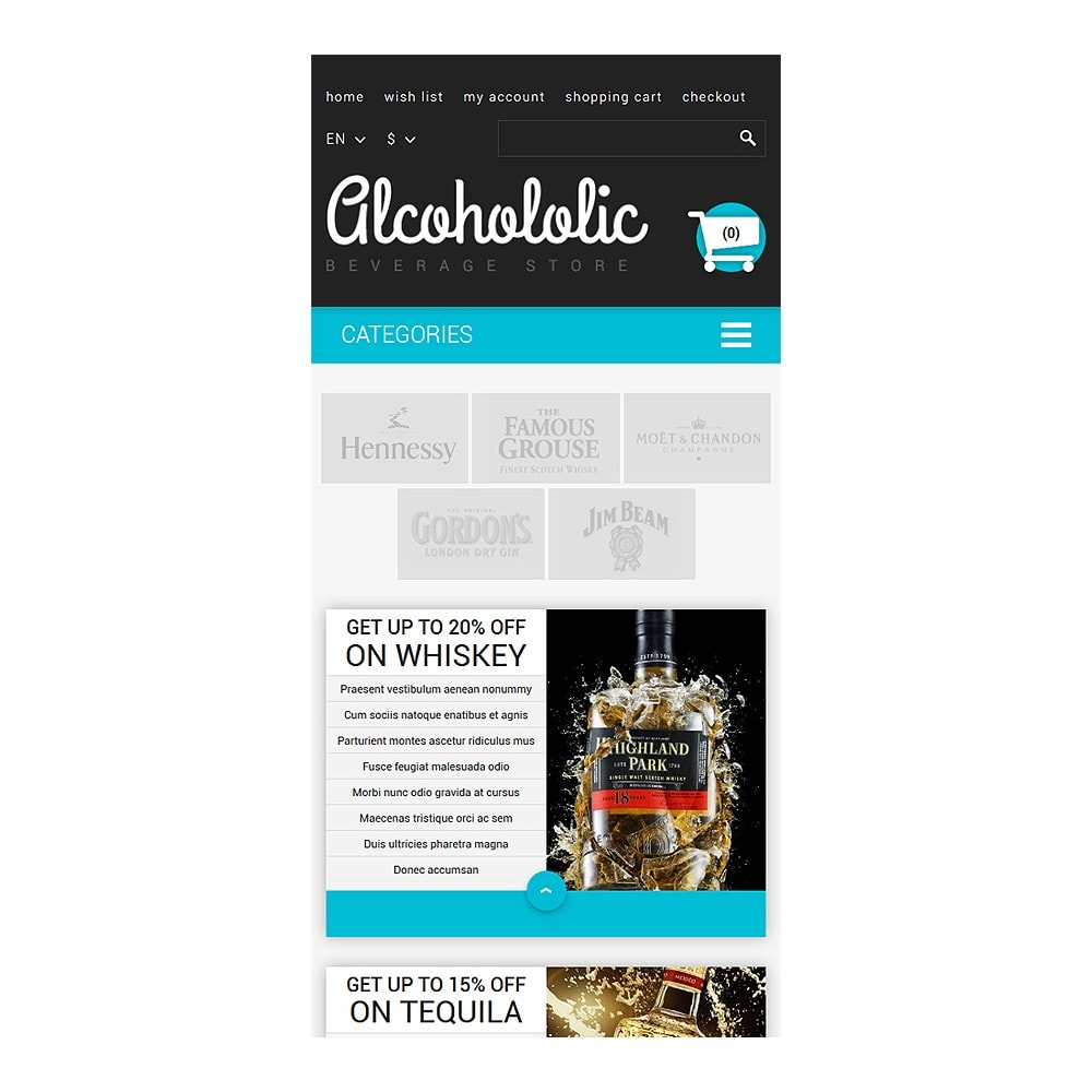 theme - Lebensmittel & Restaurants - Alkoholika-Onlineshop - 8
