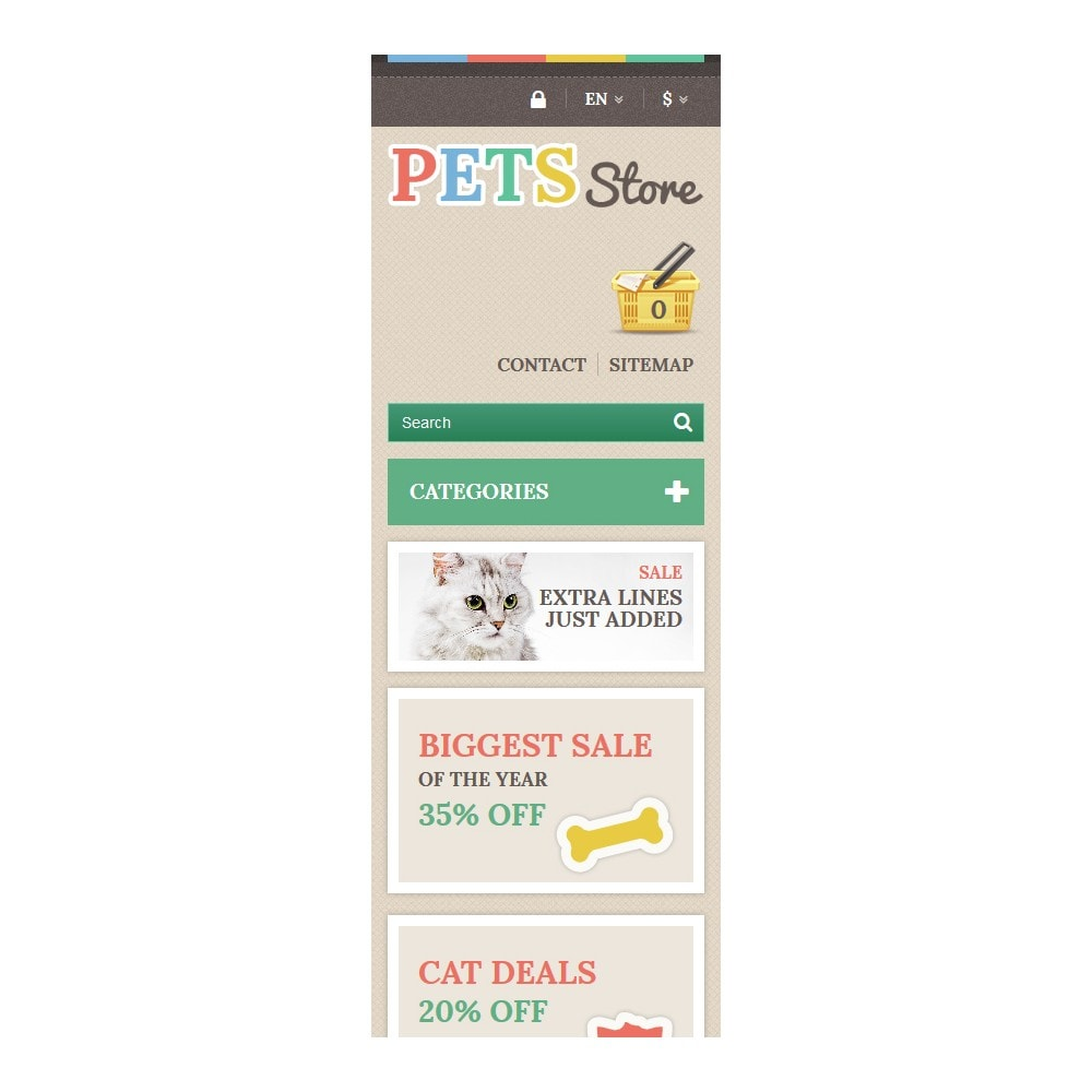 theme - Animales y Mascotas - Pets Store - 9