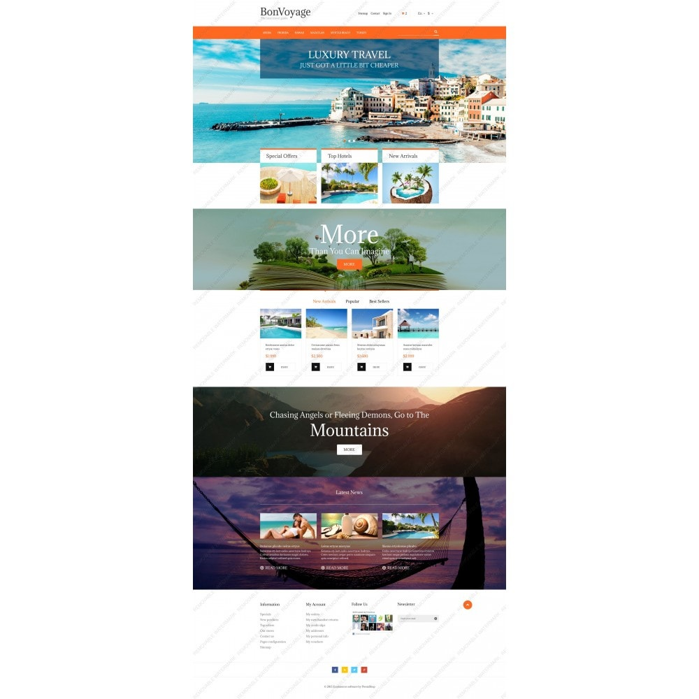theme - Sports, Activities & Travel - BonVoyage - 5
