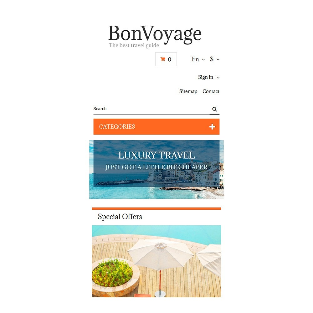 theme - Sports, Activities & Travel - BonVoyage - 8