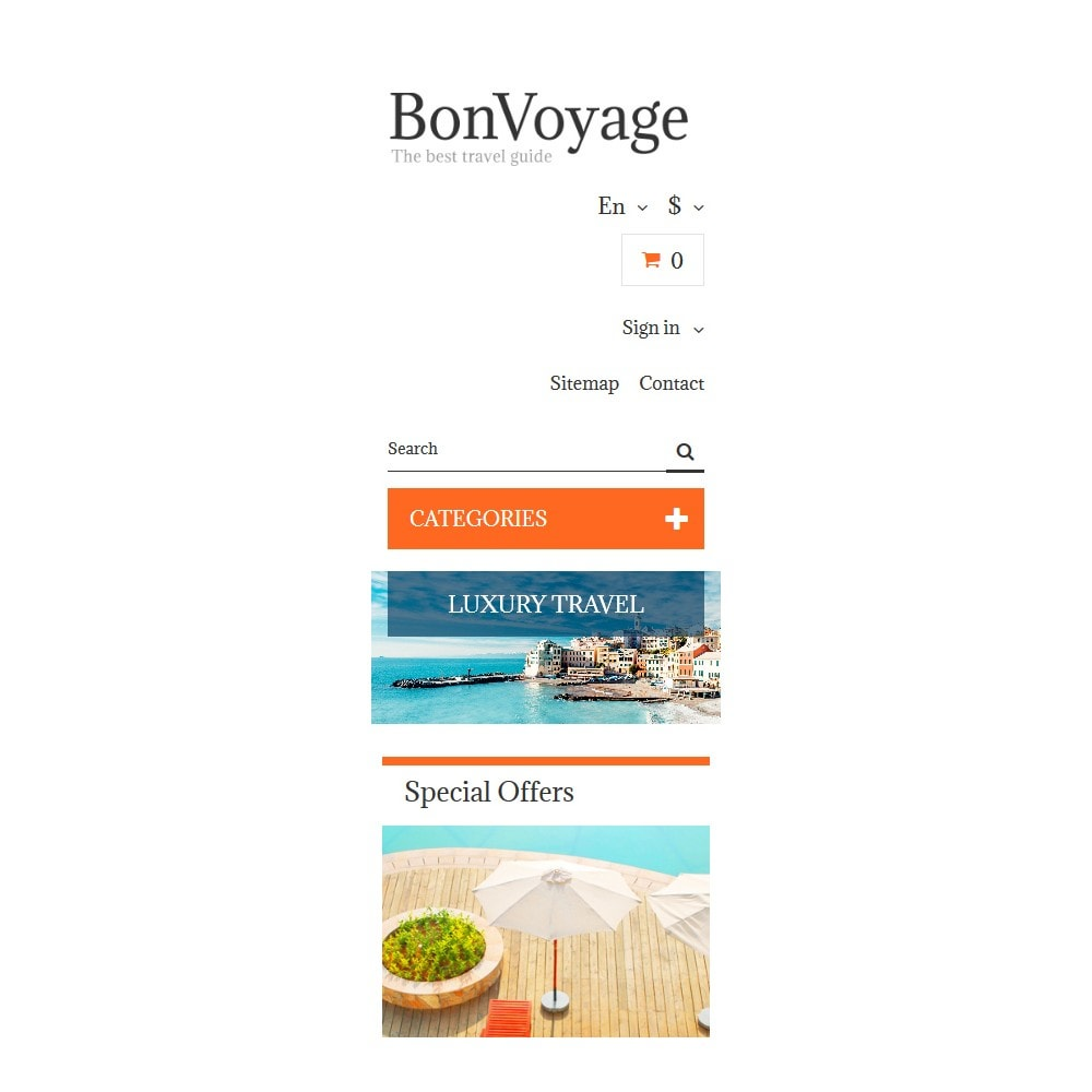 theme - Sports, Activities & Travel - BonVoyage - 9