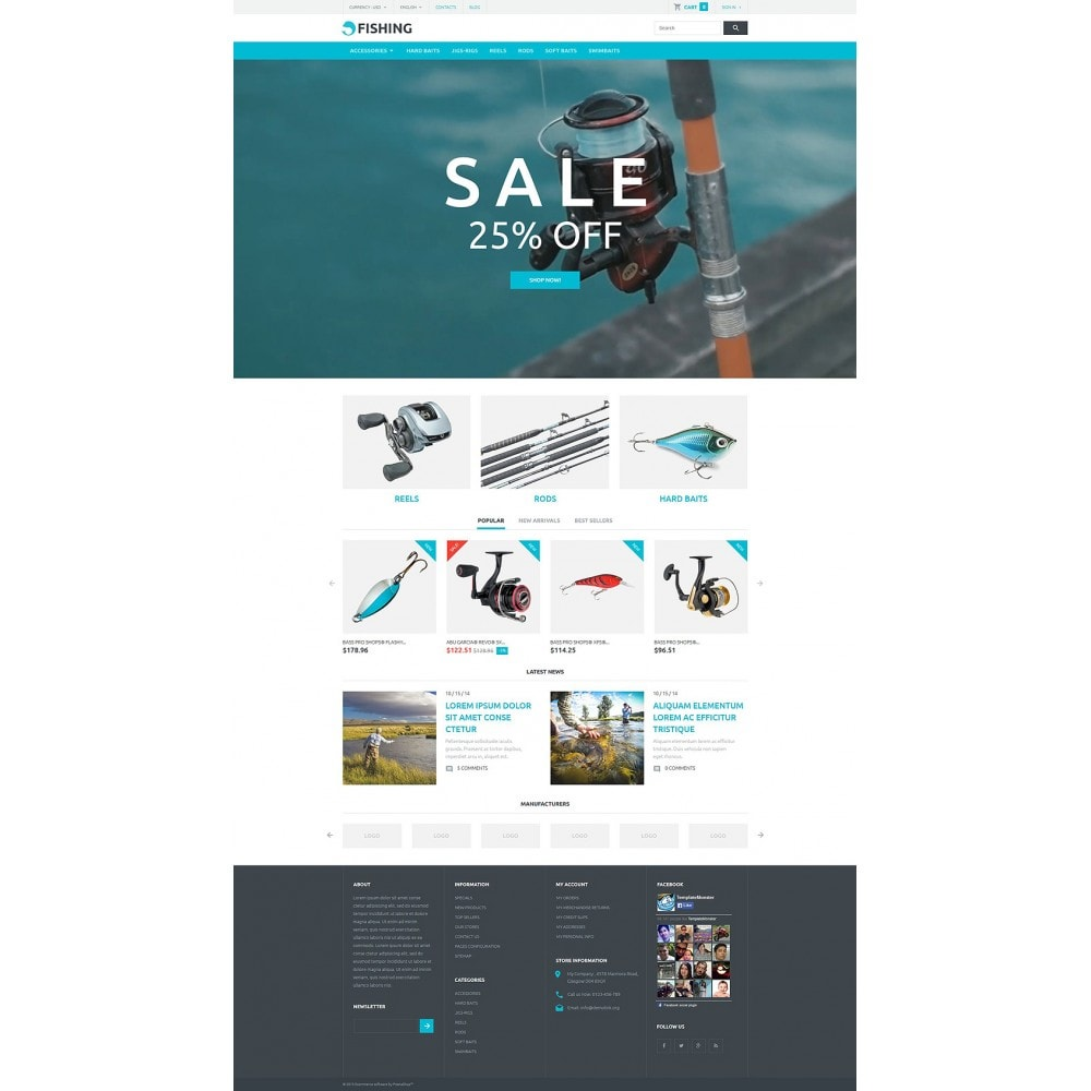 theme - Deportes, Actividades y Viajes - Fishing Store - 2