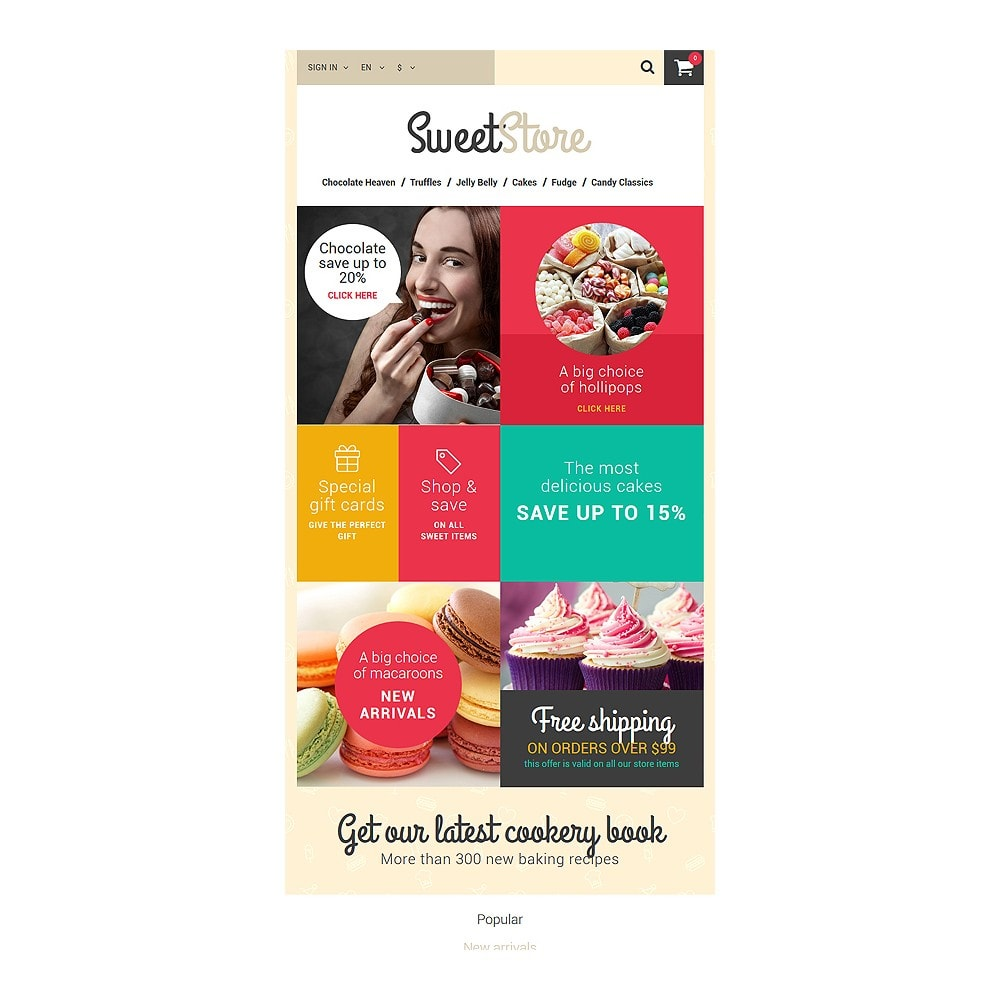 theme - Lebensmittel & Restaurants - Sweetie - 7