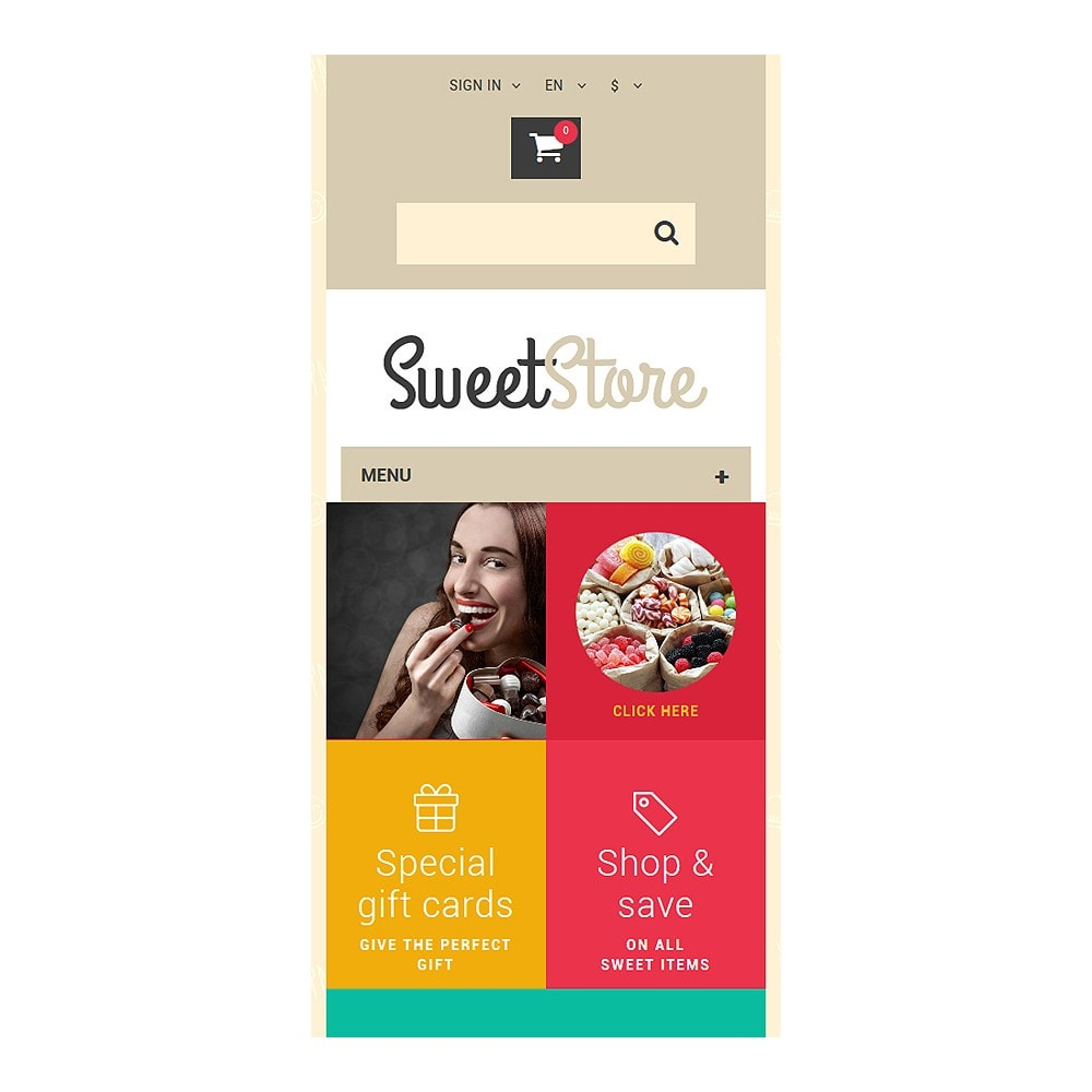 theme - Eten & Restaurant - Sweetie - 8