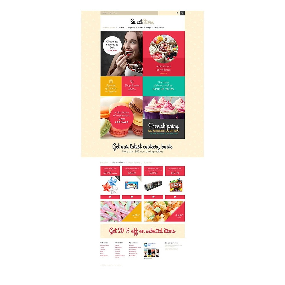 theme - Lebensmittel & Restaurants - Sweetie - 10